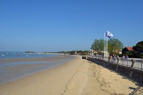 Le plage du centre-ville d'Andernos-les-Bains