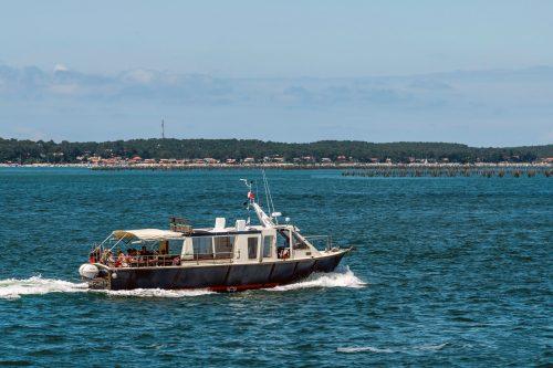 Un bateau de l'UBA lors de la Balade vers l'Île aux Oiseaux