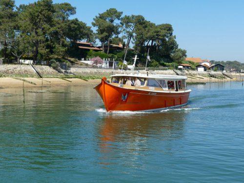 Le Greenboat lors de la croisière repas