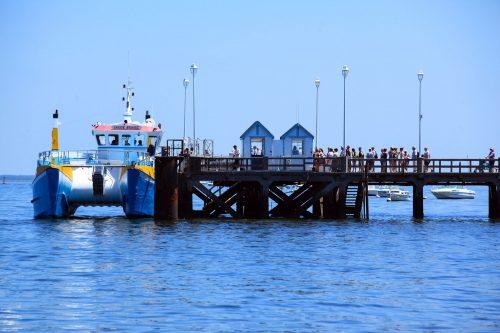 Embarquement et points de vente de la jetée d'Eyrac à Arcachon