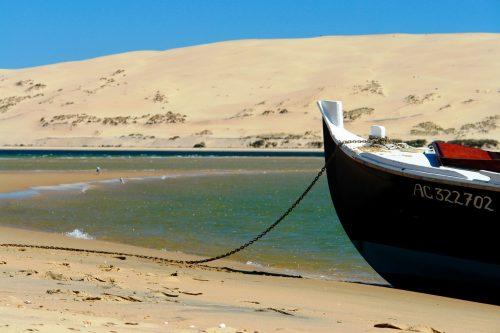 La Dune du Pilat vu depuis le Banc d'Arguin