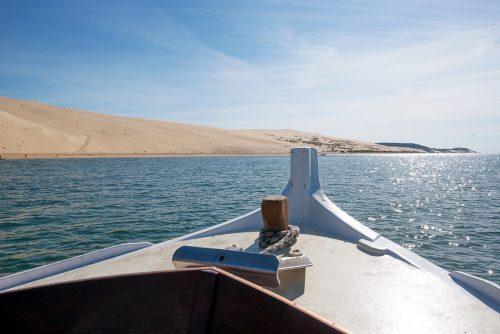 Cap vers la Dune du Pilat avec un bateau de l'UBA