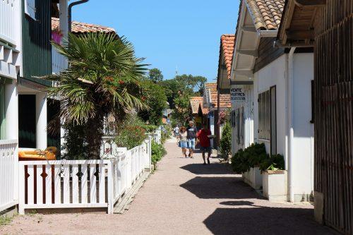 Village typique de la Presqu'île du Cap Ferret : Le Canon