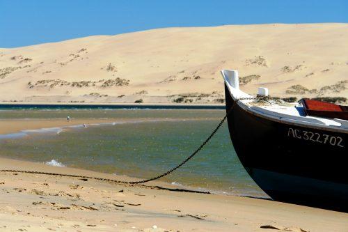 Le Banc d'Arguin face à la majestueuse Dune du Pilat