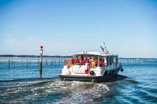 Une bateau de l'UBA, lors de la balade école du Mousse