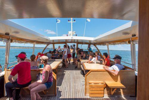 L'intérieur du Greenboat