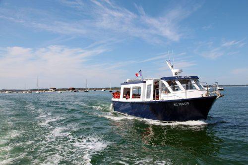 Un bateau de l'UBA, lors de la sortie pêche