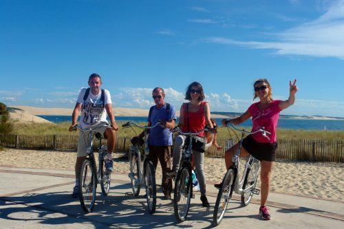 Circuit bateau et vélo à la pointe du Cap Ferret