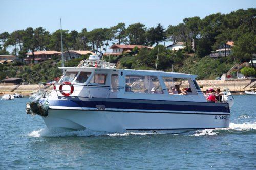 """""""Nykos"""" Vedette de la flotte de l'Union des Bateliers Arcachonnais"""