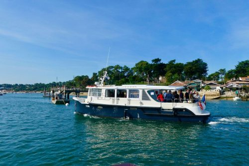 UBA Premium devant la presqu'île du Cap Ferret